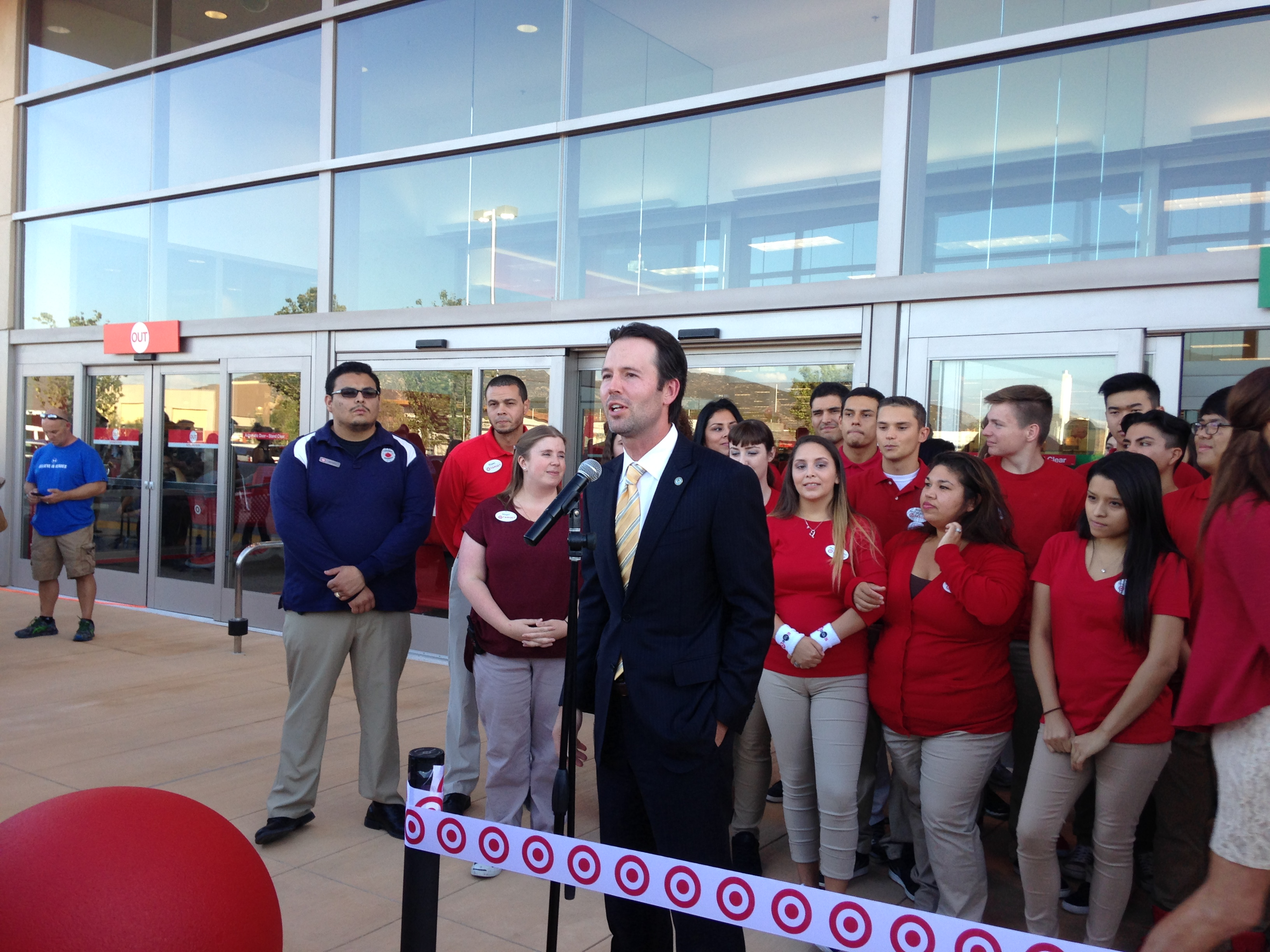 10/6/15 Del Sur Target Grand Opening