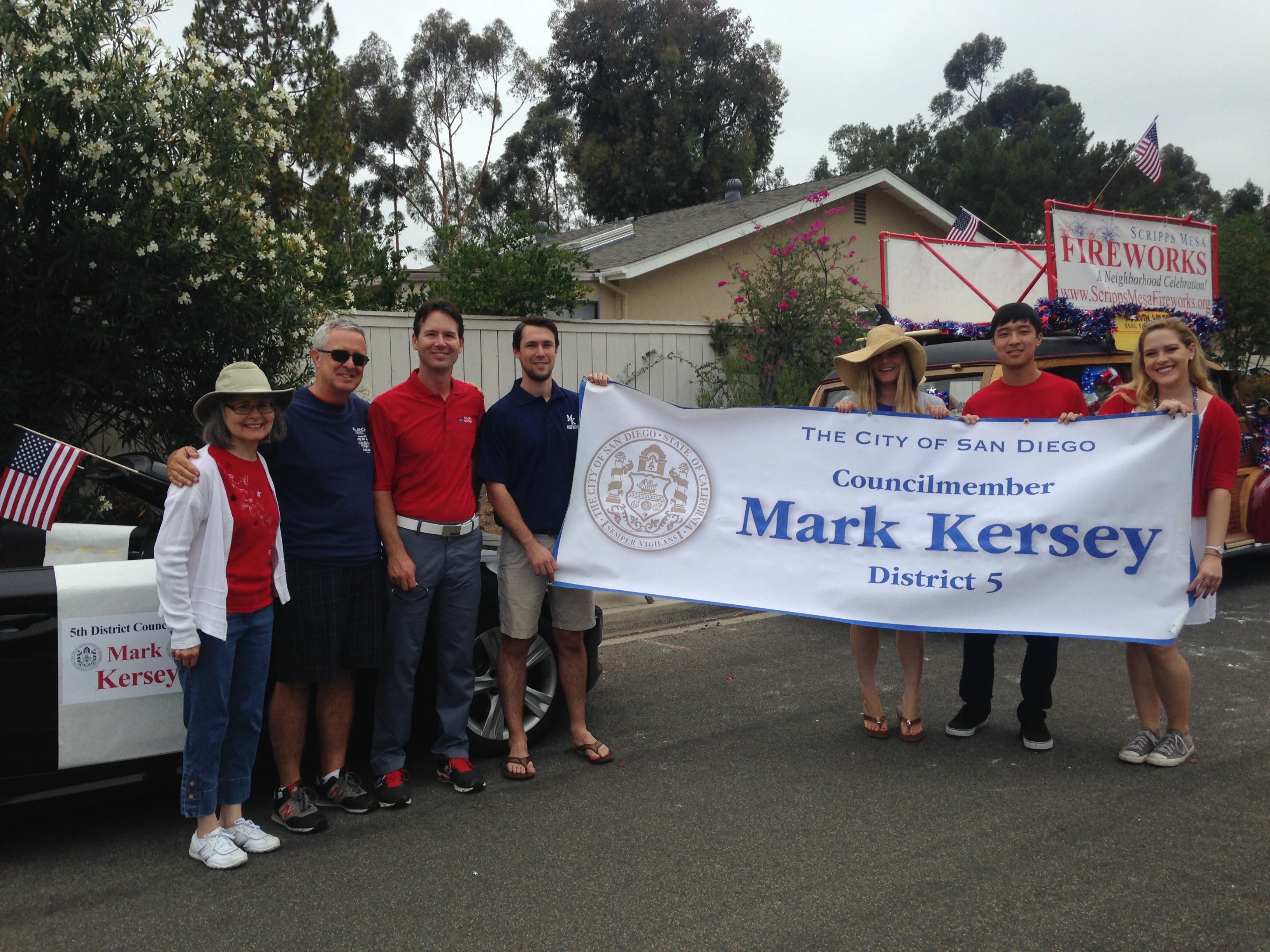 7/4/15 Scripps Ranch 4th of July Parade