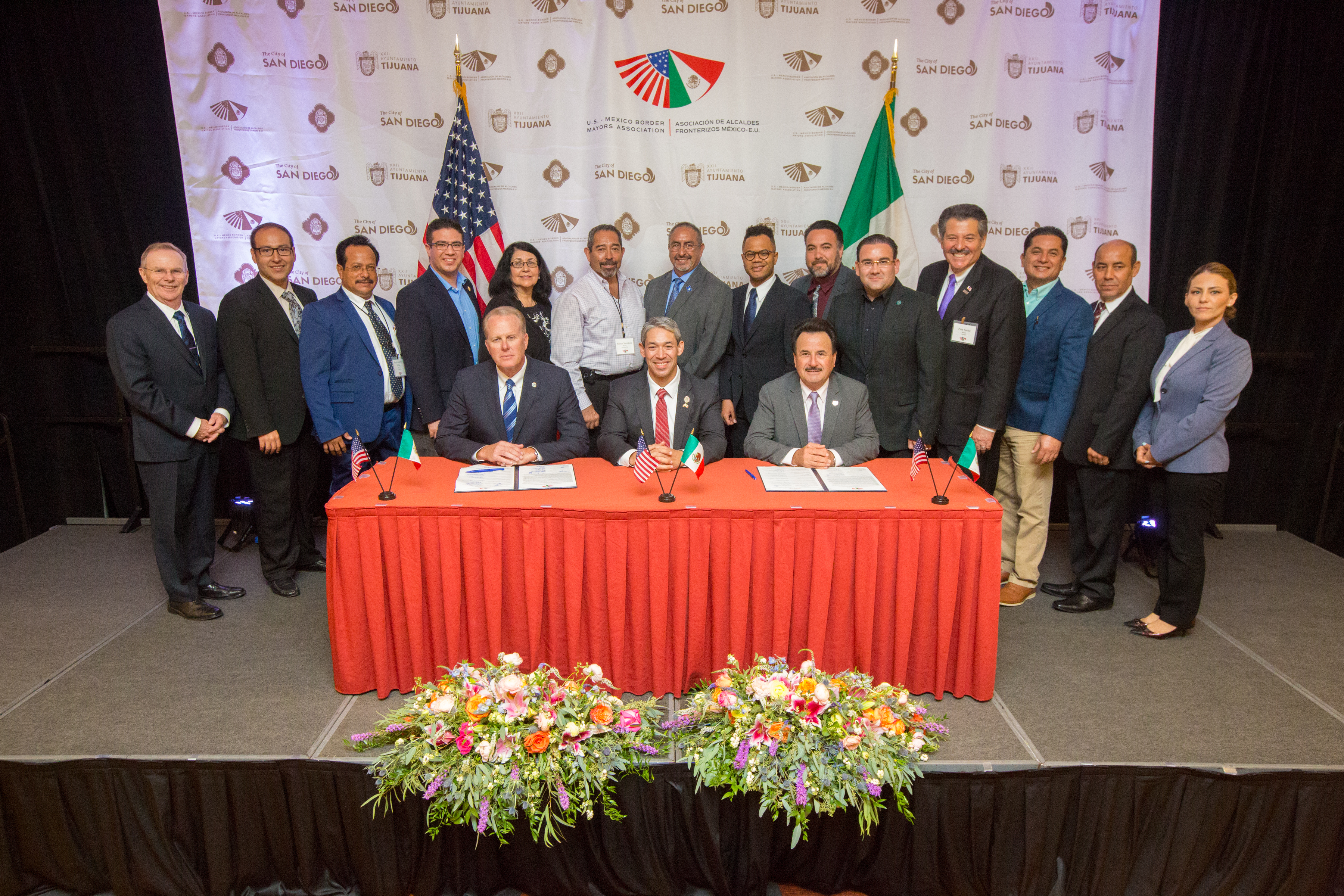 Border Mayors Summit 2018
