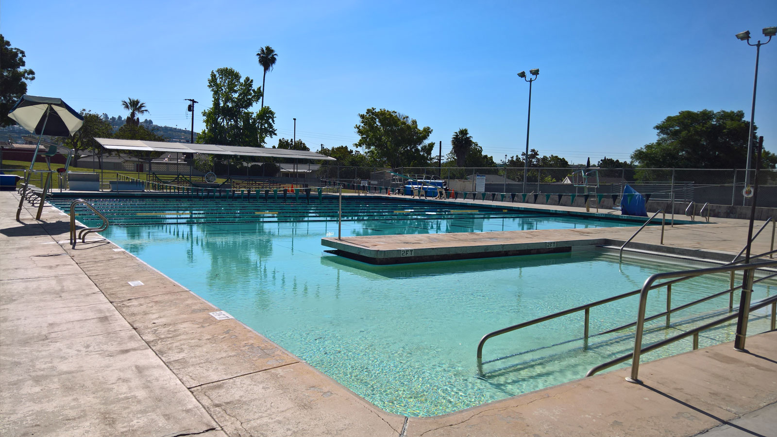 Allied gardens pool city of san diego official website for Garden town pool