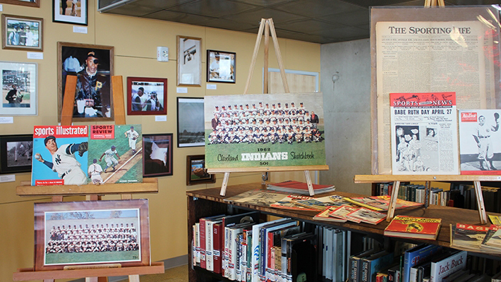 Photo of the Baseball Research Center at the Central Library