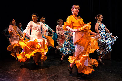 Flamenco Arana performing at December Nights