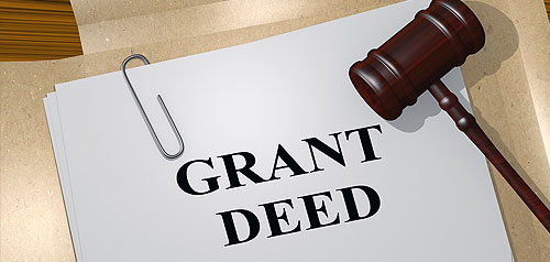 Paper title Grand Deeds with gavel