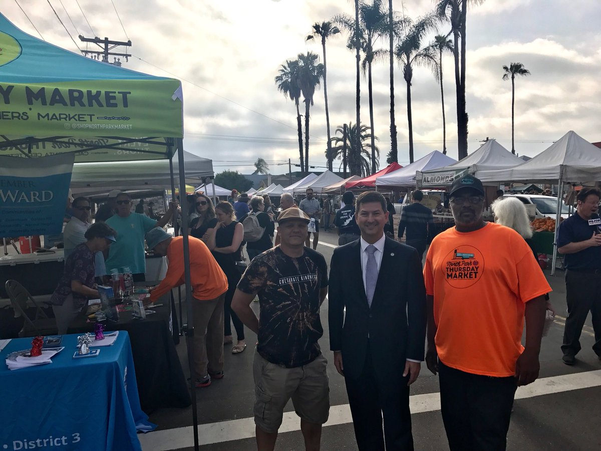 Councilmember Ward re-launching the North Park Thursday Market