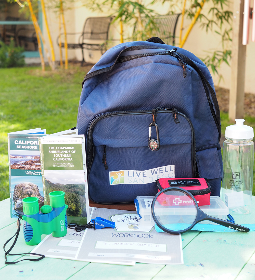 Photo of Check Out Nature backpack with various tools
