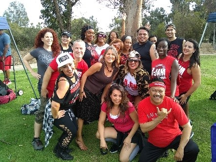 Clairemont's National Night Out Against Crime with U-Jam)