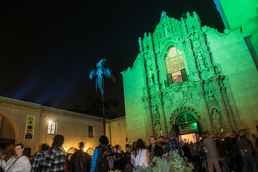 San Diego Museum of Man at December Nights 2017