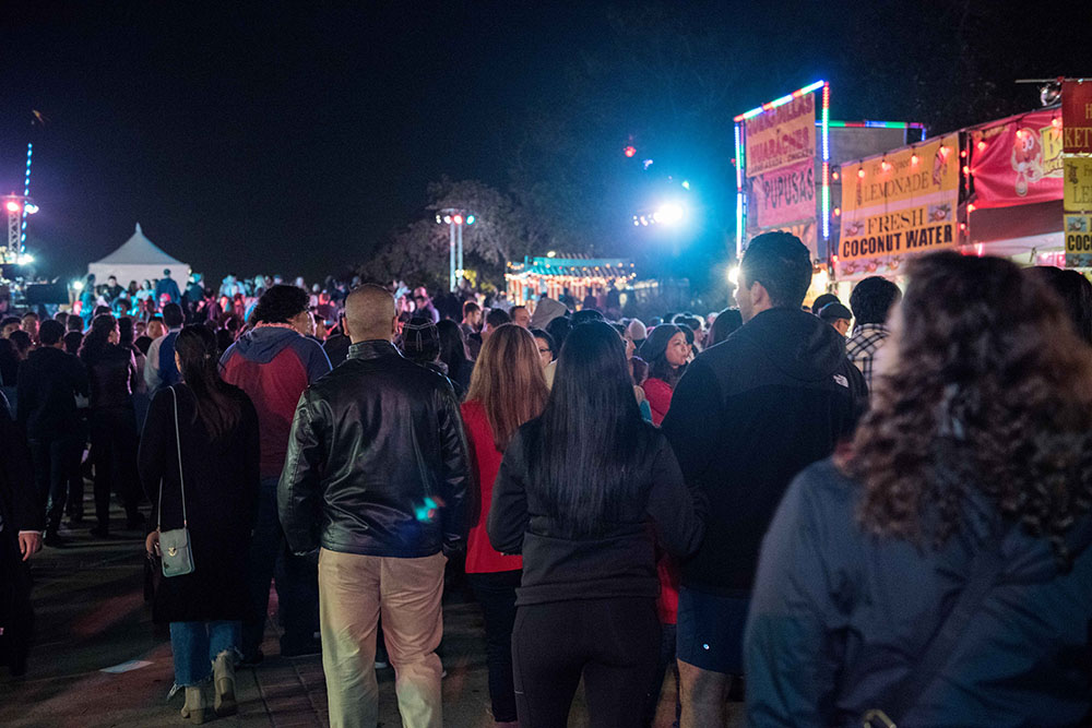 Revelers at December Nights 2017