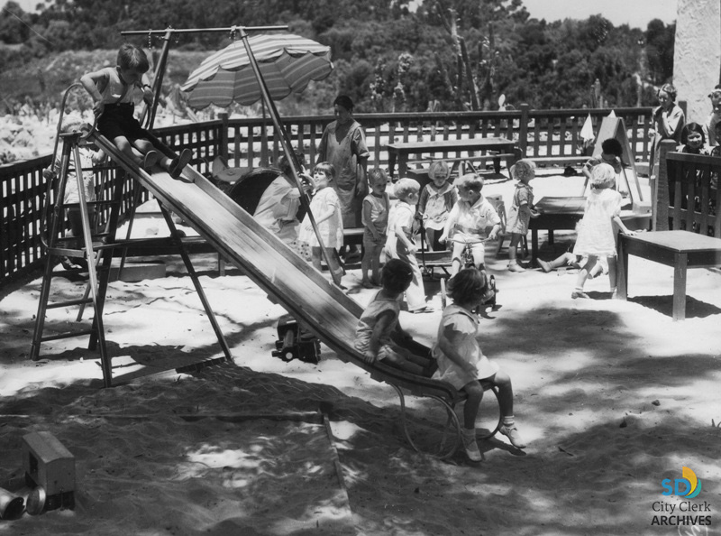 1935-36 California Pacific Exposition Playground