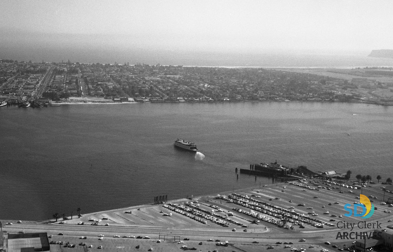 Coronado Ferry in 1968 | City of San Diego Official Website