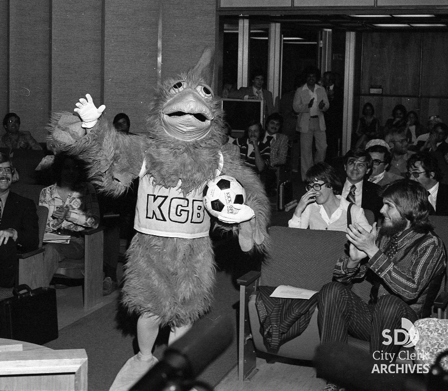 KGB Chicken in Council Chambers, Presentation for Soccer Field