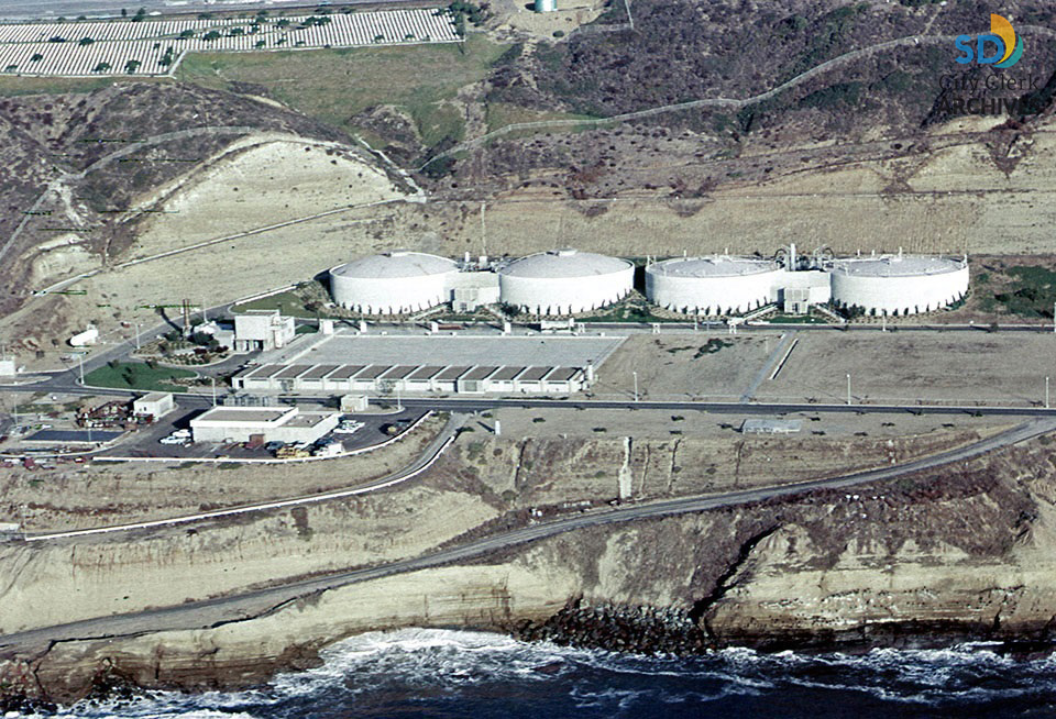 Point Loma Wastewater Treatment Plant in 1963 | City of San Diego Official  Website