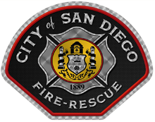 Image of San Diego Fire-Rescue logo