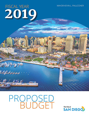 Cover of FY19 Proposed Budget