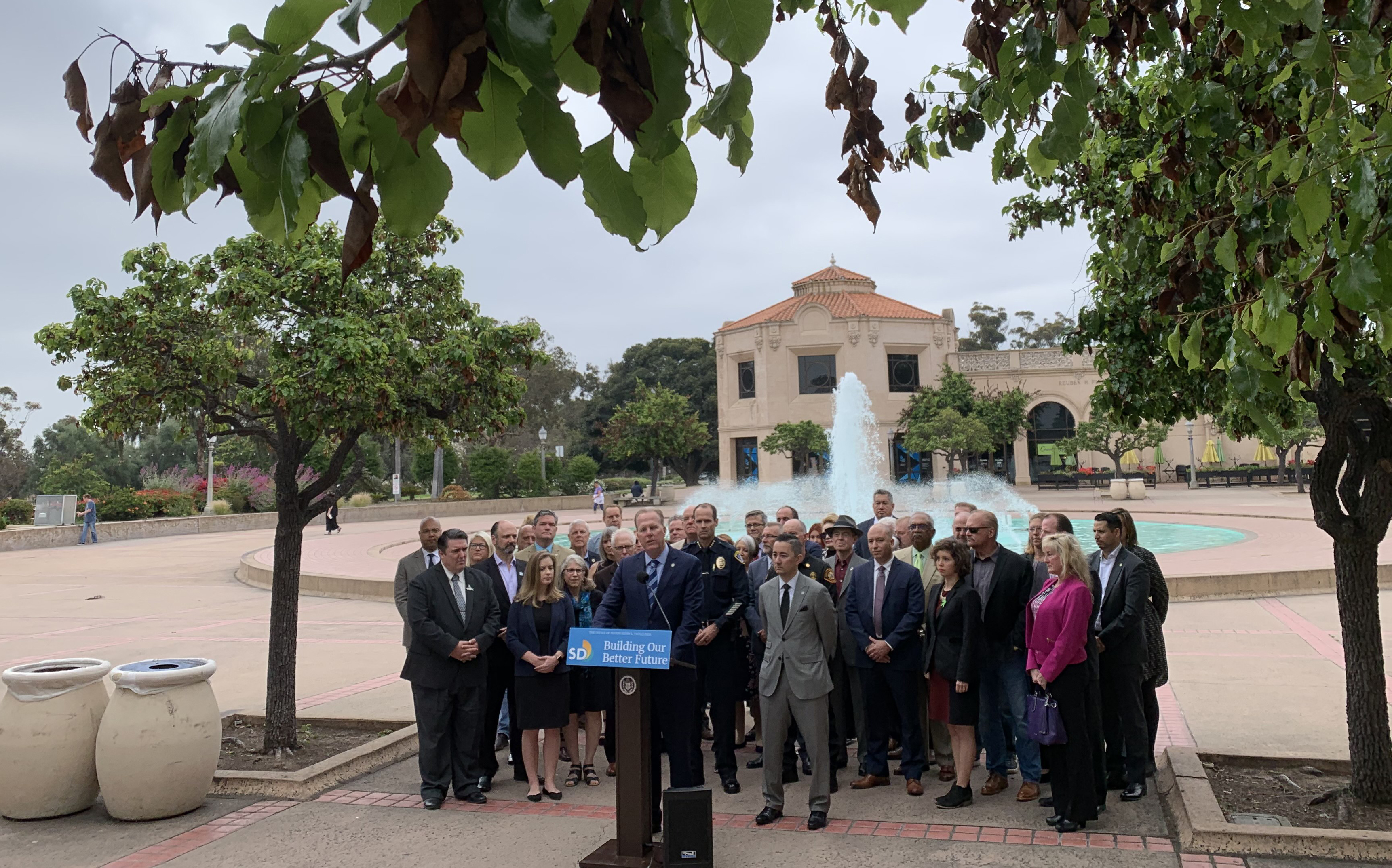 Balboa Park FY2020 May Revise Press Conference