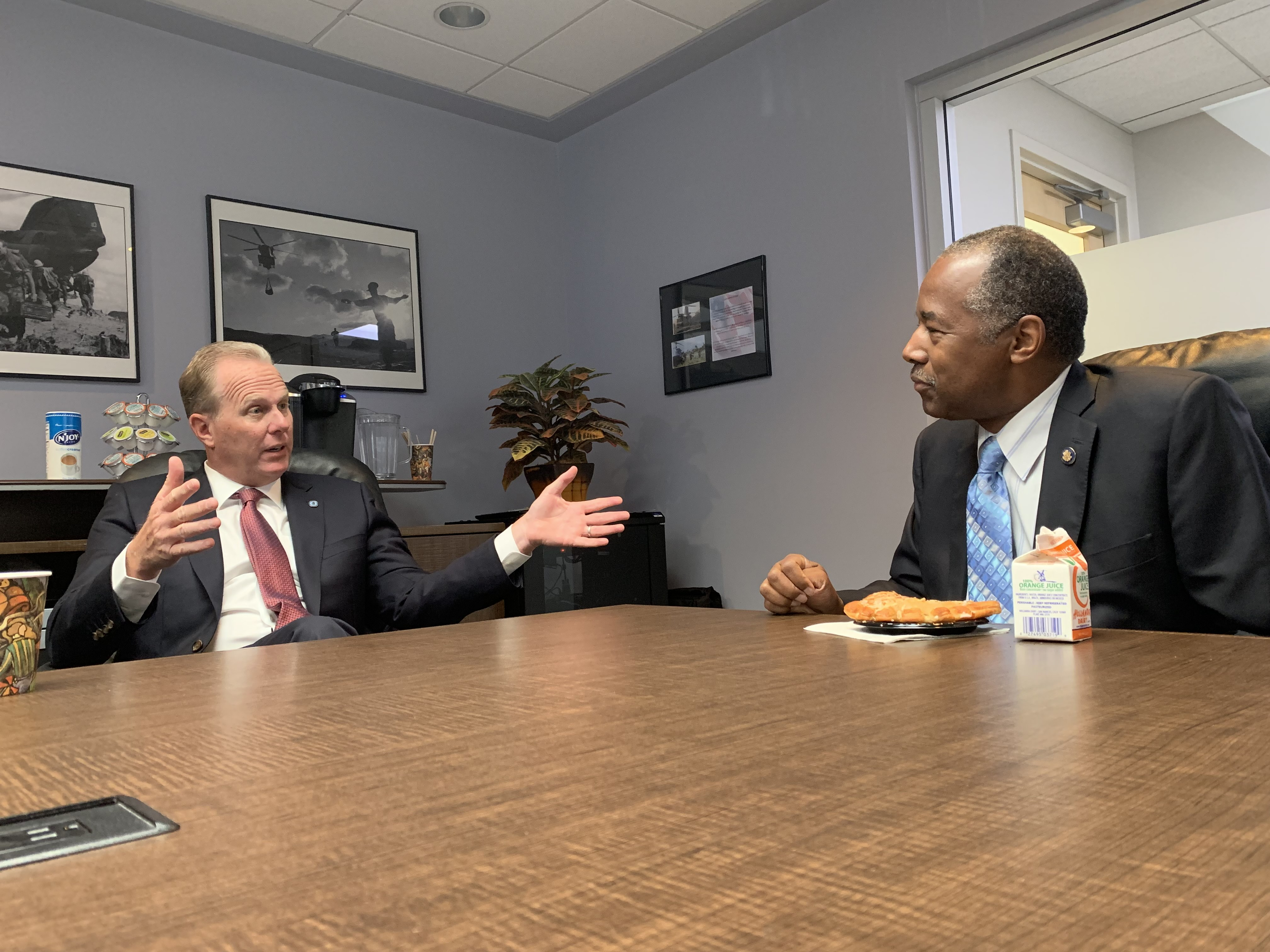 Mayor Faulconer and HUD Secretary Ben Carson