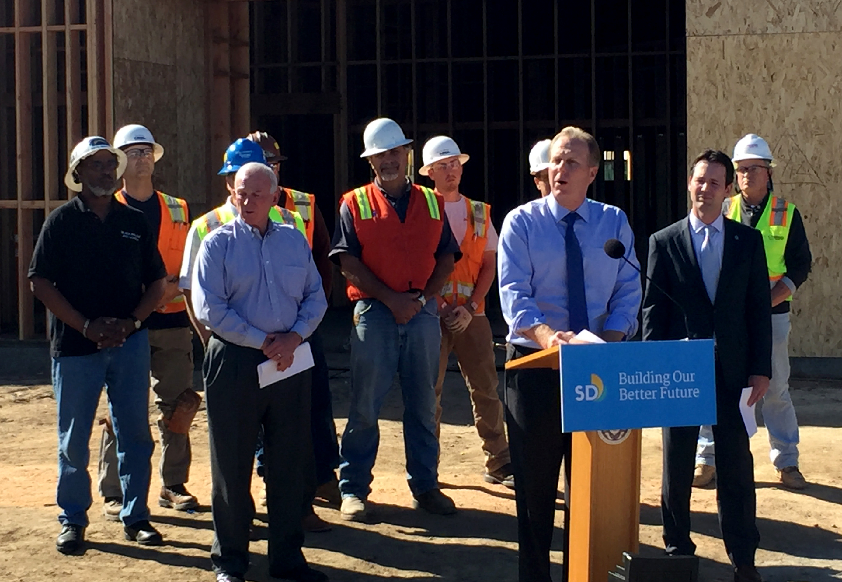 "Mayor Kevin L. Faulconer and Councilmember Mark Kersey call on City Council to move ""Rebuild San Diego"" proposal forward"