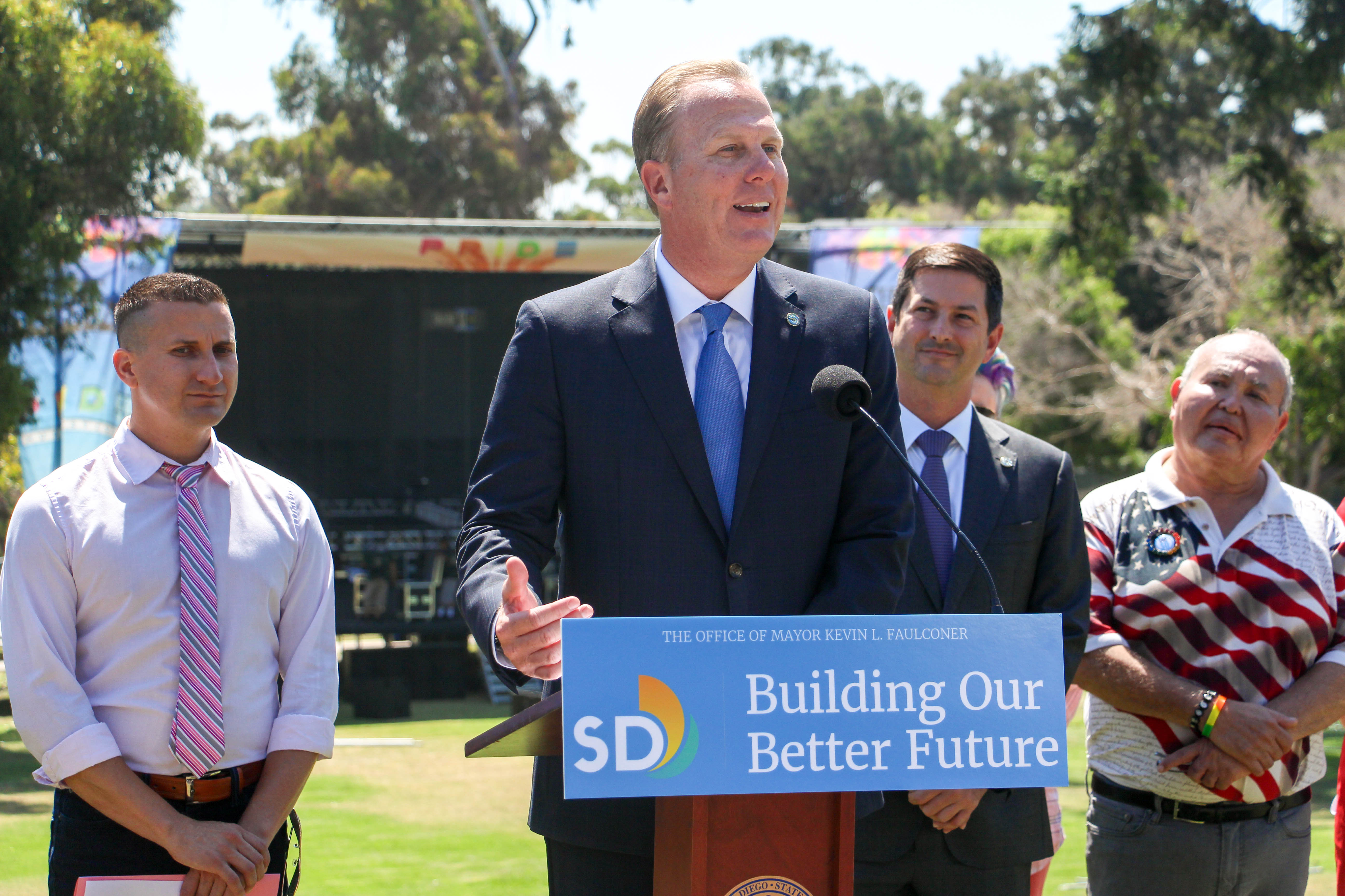 Mayor Faulconer, Comic-Con, Pride Showcase Economic & Cultural Impacts of San Diego's Biggest Tourism Month