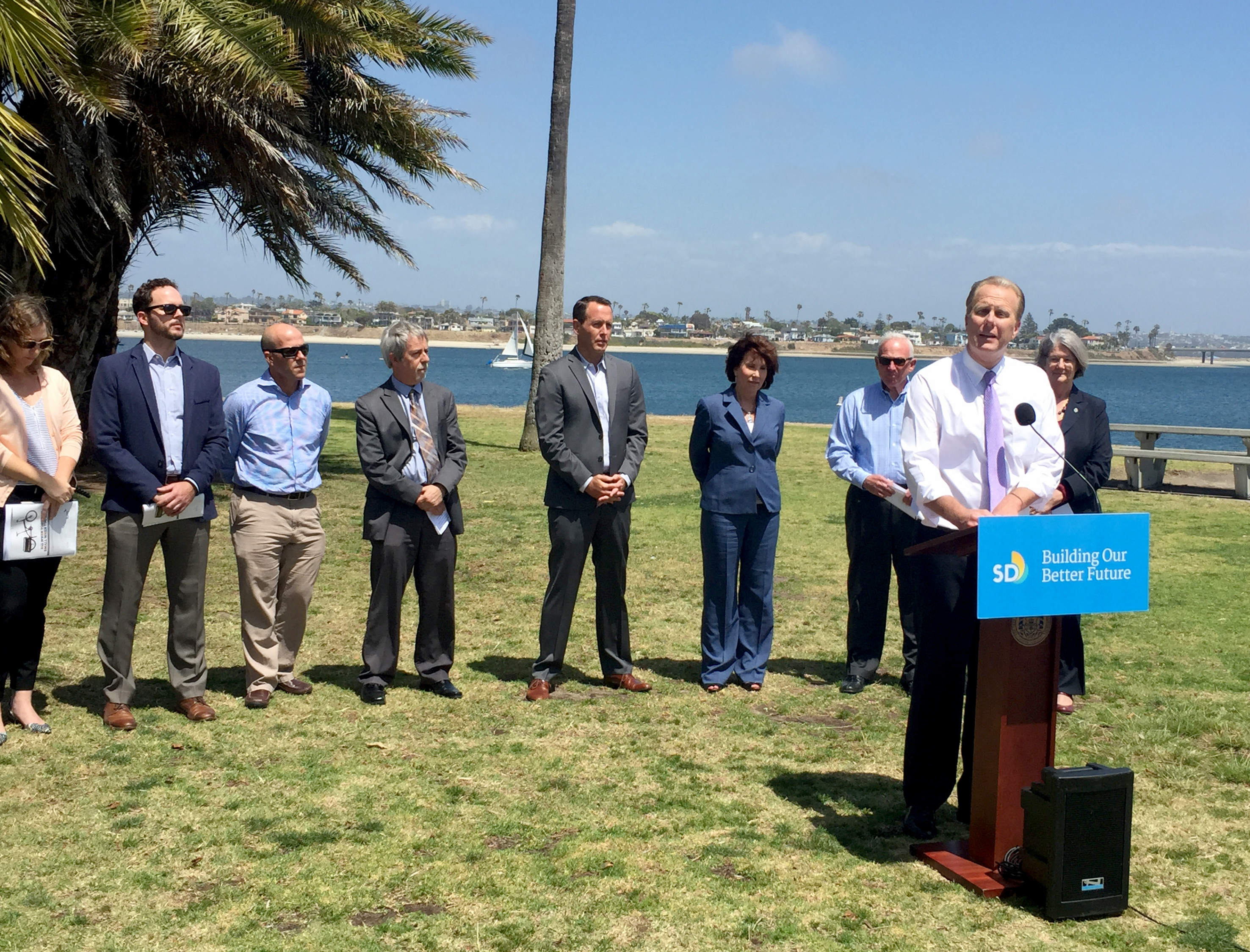 Mayor Kevin L. Faulconer outlines funding to kick off San Diego's landmark Climate Action Plan