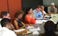 Image of a Community Planning Group in session