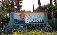 Photo of Ocean Beach Sign