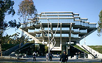 Photo of UCSD Library