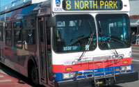Photo of North Park Bus
