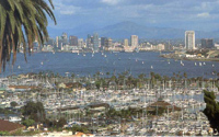 Photo of the City of San Diego from Point Loma