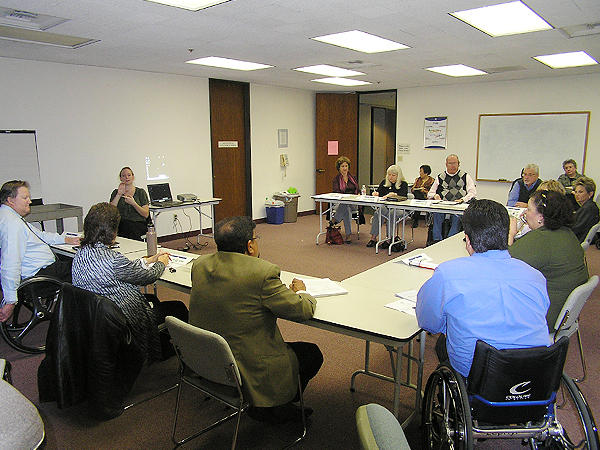 Photo of Committee on Disability Meeting