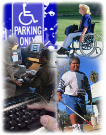 Collage of Disability-Related Photos