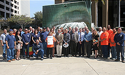 Photo from A Celebration of City of San Diego Public Works Employees