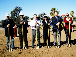 Photo of the 43rd Street Groundbreaking