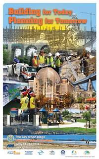 Poster of Building for Today, Planning for Tomorrow, National Public Works Week
