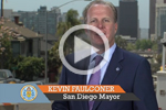 Video Capture of Mayor Faulconer Public Works Video