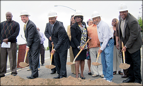 Skyline Drive Corridor Improvements Project Groundbreaking Ceremony