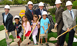 Photo from Ted William's Parkway Bridge Project Groundbreaking Ceremony