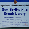 Photo from Skyline Hills Branch Library Project Groundbreaking