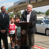 Photo from Ted Williams Parkway Pedestrian Bridge Celebration