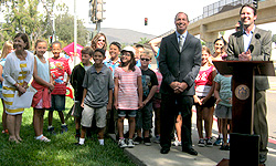 Photo from Ted Williams Parkway Bridge Celebration