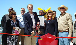 Photo of Mike Gotch Memorial Bridge Ribbon Cutting Ceremony