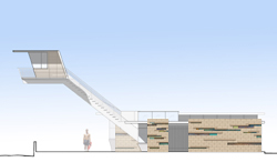 Rendering of New Lifeguard Tower