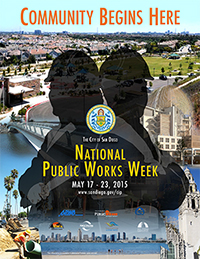 Image of National Public Works Week poster
