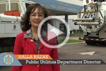 Video Capture of Public Utilities Public Works Video