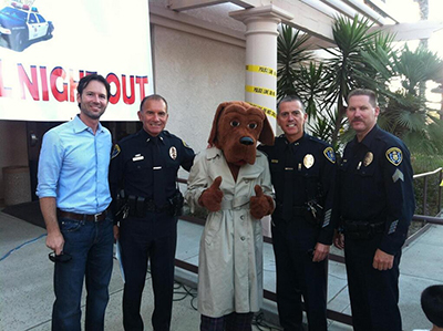 Photo 1 of 1: National Night Out with the San Diego Police