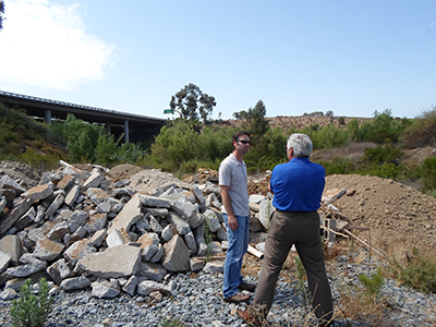 Photo 1 of 1: Illegal Dump Site in Rancho Bernardo