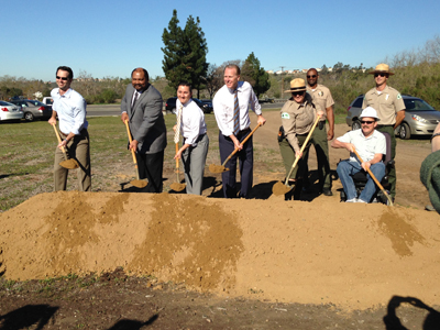 Photo 1 of 1: Black Mountain Ranger Station Groundbreaking