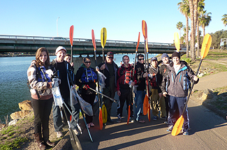 Photo 1 of 7: San Diego River Kayak Clean-Up