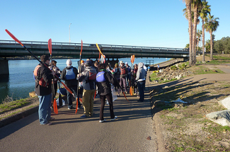 Photo 3 of 7: San Diego River Kayak Clean-Up