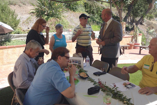 Photo of Councilman Sherman with Volunteers at the Tierrasanta Village and Community Leadership Luncheon