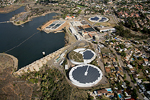 Aerial Photo of Alvarado Water Treatment Plant Photovoltaics